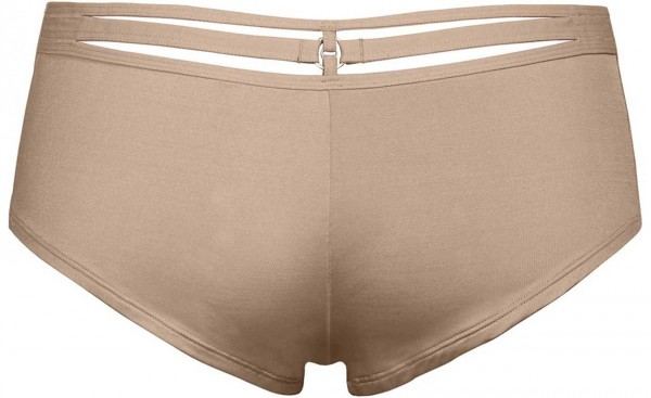 Marlies Dekkers Space Odyssey Glossy Camel Brazilian Shorts