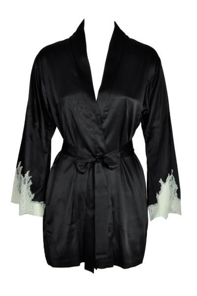 Cotton Club Seta Seiden Kimono Zaffiro