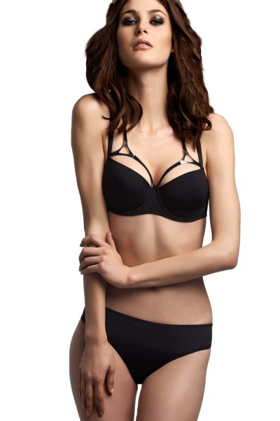 Marlies Dekkers Triangle Black Balconette BH