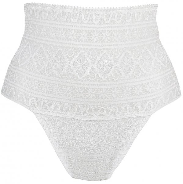 EVA Bohemian Lace Taillenstring Weiss