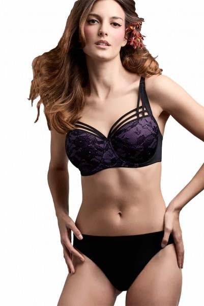 Marlies Dekkers Dame de Paris Hidden Purple Plunge BH