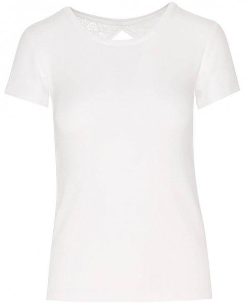 EVA Bohemian Lace Shirt 1/2 Arm Weiss